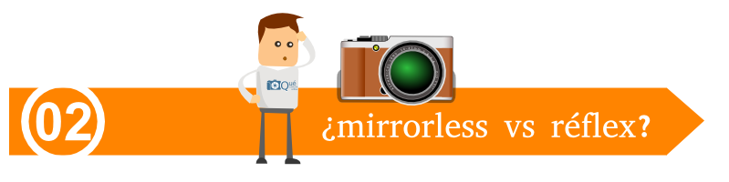 Réflex vs mirrorless
