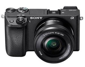 Cámara EVIL Sony a6300 con vídeo 4K