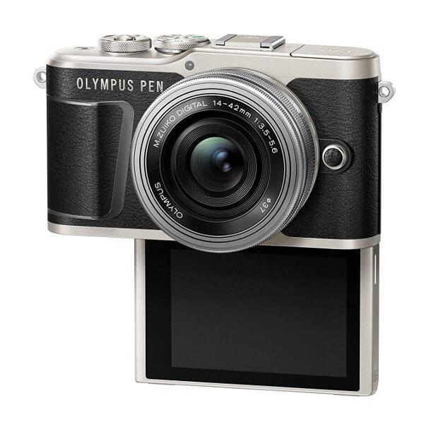 Cámara sin espejo Olympus E-PL9 - pantalla abatible