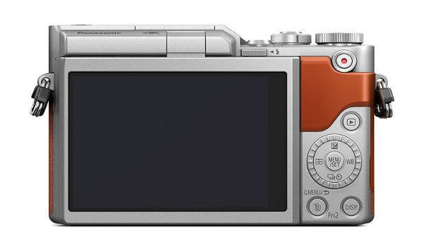 Cámara sin espejo Panasonic GX800 / GF9 - Pantalla trasera y botonera