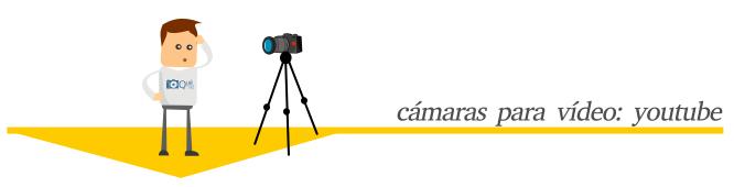 Cámaras recomendadas para youtubers y pequeños proyectos de vídeo