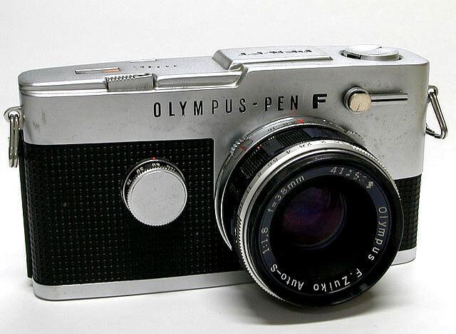 Cámara réflex analógica Olympus Pen F