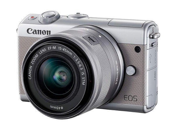Canon EOS M100 con objetivo