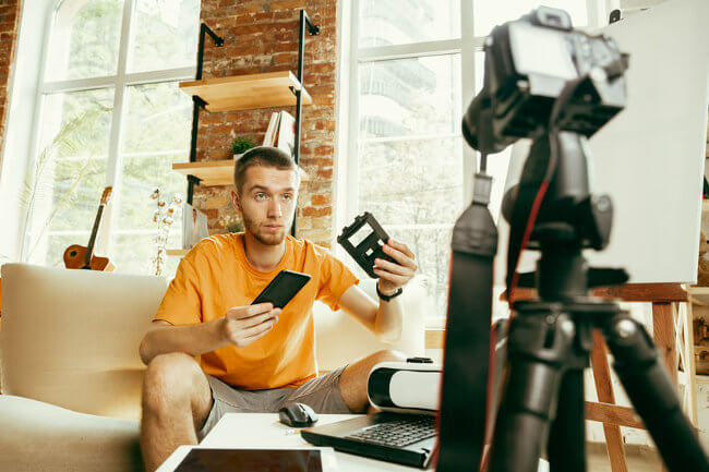 Cámaras recomendadas para vídeo