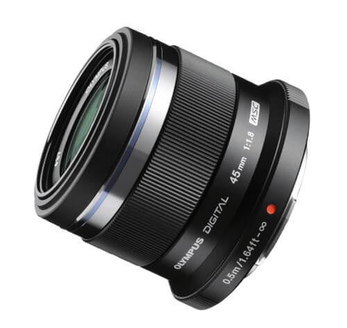 Objetivo Olympus 45mm f/1.8 M.Zuiko micro 4/3
