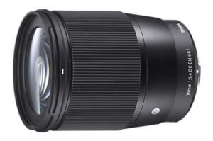 Objetivo Sigma 16mm f/1.4