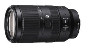 Objetivo Sony 70-350mm f/4.5-6.3 OSS