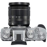 Fuji X-T3 - Vista superior con botonera y diales