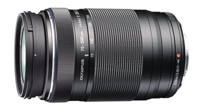 Objetivo Olympus 75-300mm f/4.8-6.7