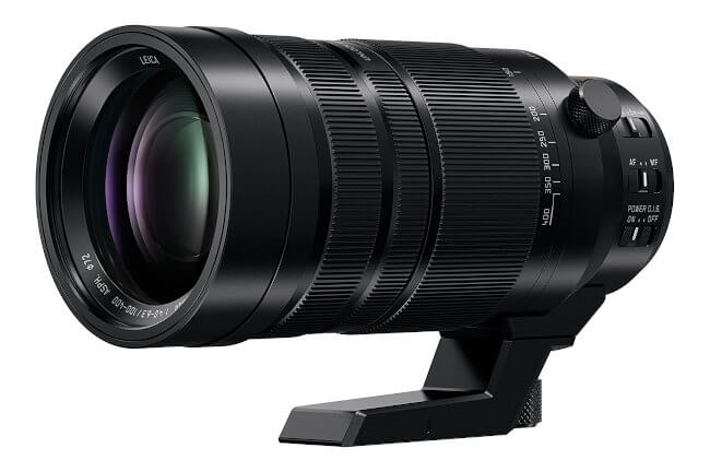 Objetivo Panasonic Leica 100-400mm f/4-6.3 Power OIS