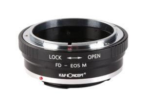 Adaptador Canon FD / FL a Canon EOS M