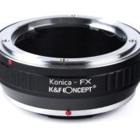 Adaptadores para objetivos con montura Konica AR