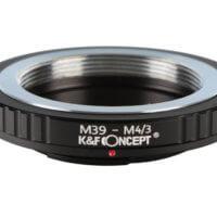 Adaptadores para objetivos con montura M39 (rosca Leica)