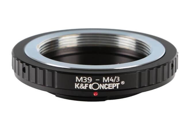 Adaptadores para objetivos con montura M39 a cámaras digitales