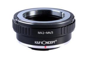 Adaptador de M42 a Micro 4/3