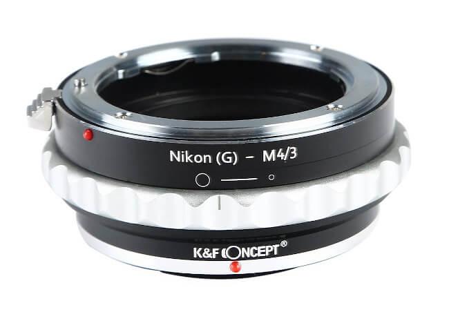 Adaptadores para objetivos con montura Nikon F