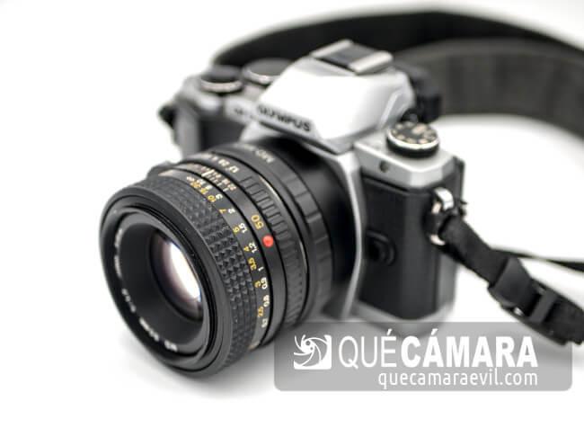Objetivos antiguos en cámaras digitales. Los 50mm fijos